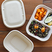 To Go Containers with Lids
